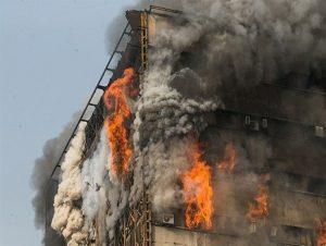 بیمه آتش سوزی و حادثه پلاسکو
