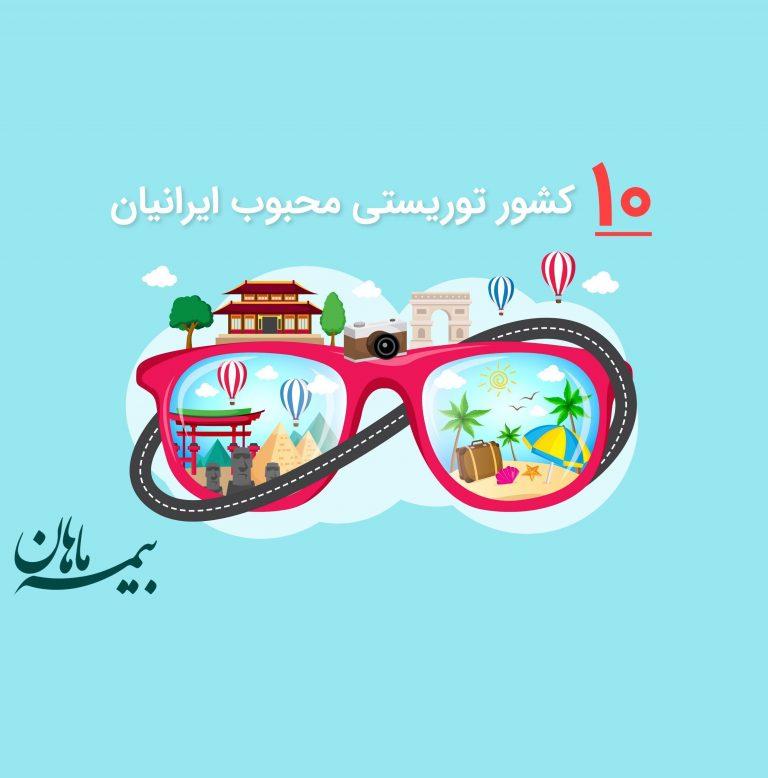 توریستی ترین کشورها – 10 کشور توریستی محبوب ایرانیان کدام است؟