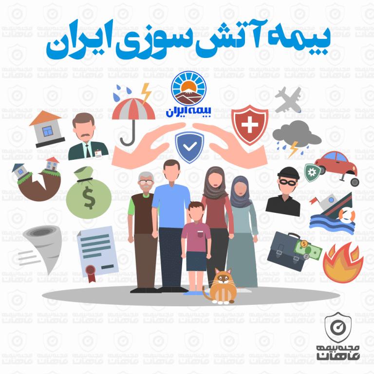 بیمه آتش سوزی ایران – پوشش های کامل 100% + خرید آنلاین